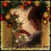 Devyn Christmas 2007