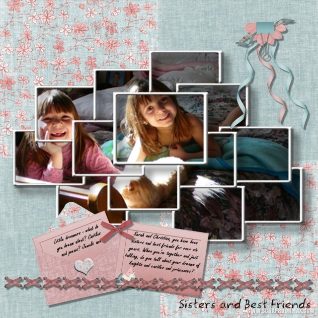 Example scrapbook pages - Scrapbooking idees pages ...