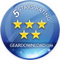Rated 5 stars at GearDownload.com