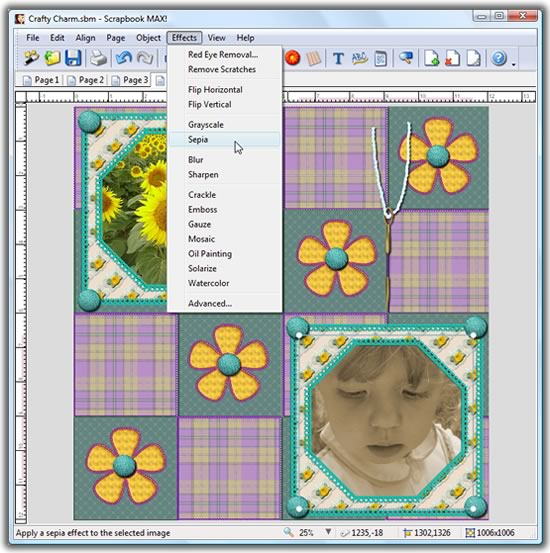 Customize Your Scrapbook