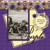 Scrapbook MAX! Sample Layout #8