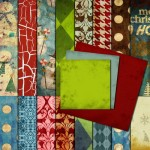 Scrapbook Kit Christmas Theme