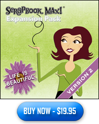 Life is Beautiful Scrapbooking Expansion Pack