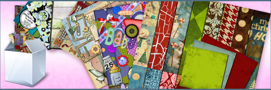 Thousands of Digital Scrapbooking Kits