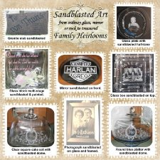 KPierce - Sandblasted Art Layout