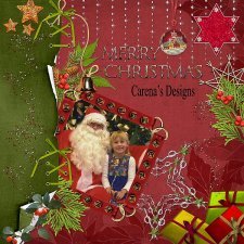 Carena -Merry Christmas Layout