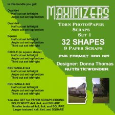 Donna Thomas - Maximizers Torn Photo Papers
