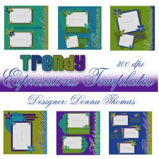 Donna Thomas - Trendy Expressions Templates