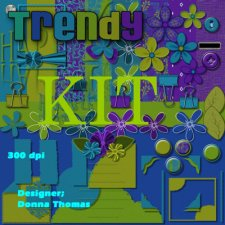 Donna Thomas - Trendy Kit
