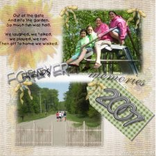 fourfoxes-A Day Spent With Friends Layout