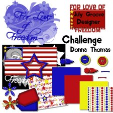 Donna Thomas - For The Love of Freedom Challenge Kit