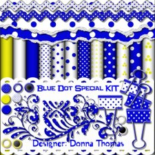 Donna Thomas - Blue Dot Special Kit