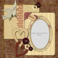 Deanne Gow-Smith  - Lovey Dove Template - Scrapbook MAX! Booster Pack Store