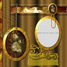 Deanne Gow-Smith  - Patricia Rose Template - Scrapbook MAX! Booster Pack Store