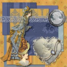 Deanne Gow-Smith  - Victorian Series Charlemaine- Scrapbook MAX! Booster Pack Store