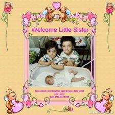 eng -Welcome Little Sister layout