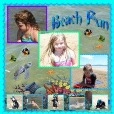 Oceania - Beach Fun Layout