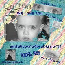 Debby - Carson Layout