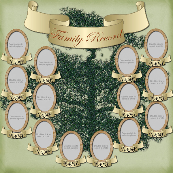 Family Tree Scrapbook Software - Family Heritage Expansion ...