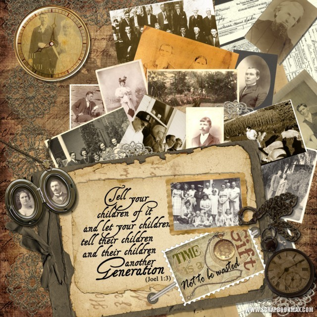 heritage photo album ideas - heritage templates Archives Scrapbook MAX