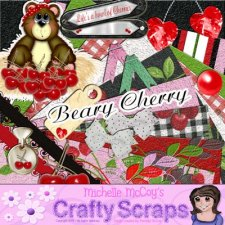 Michelle McCoy - Beary Cherry Kit
