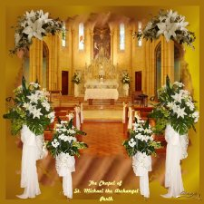 Omajo - Church Floral Arrangement Layout