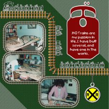 Granny - HO Train 2 Layout
