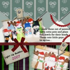 Michelle McCoy - Light Up Buddies Layout