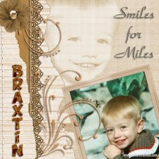 Paula K - Smiles for Miles Layout