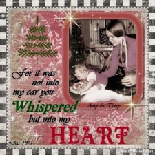 Gotart - Xmas Heart Layout