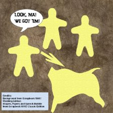 April Fool's Joke - Scrapbook MAX! Cave Painting