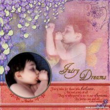 Sue P. - Fairy Dreams Layout