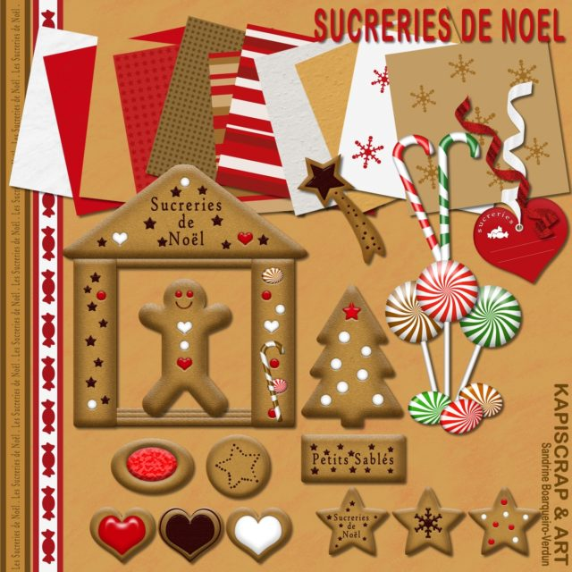 Christmas Cheer Sucreries de Noel