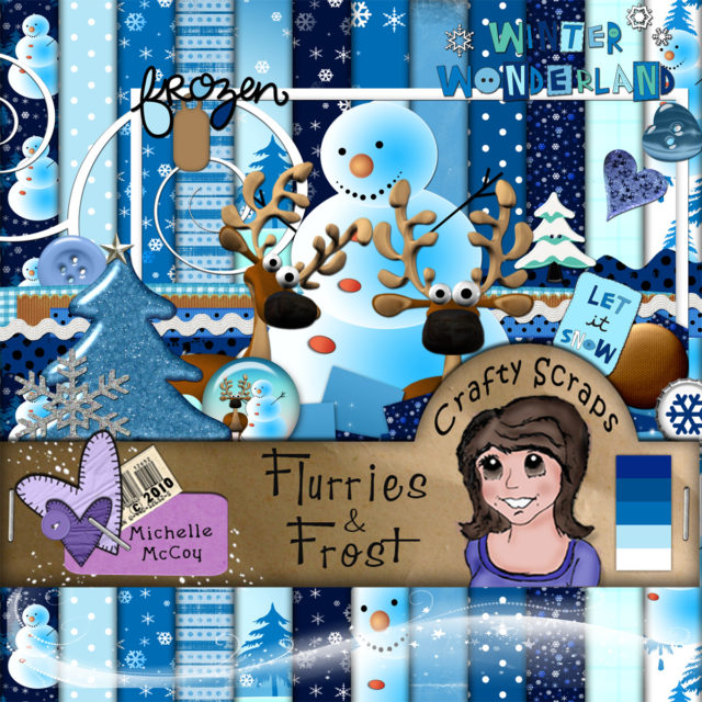 Christmas Wishes Flurries and Frost
