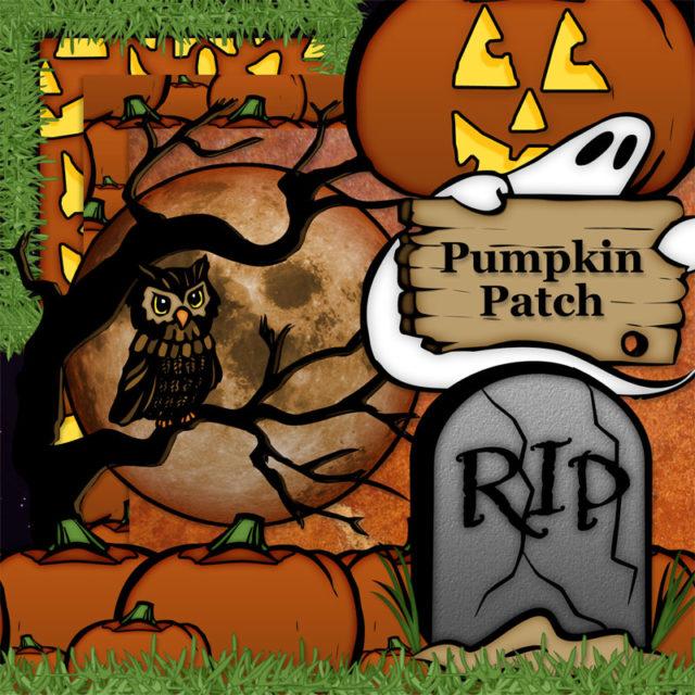 Halloween Fun Pumpkin Patch