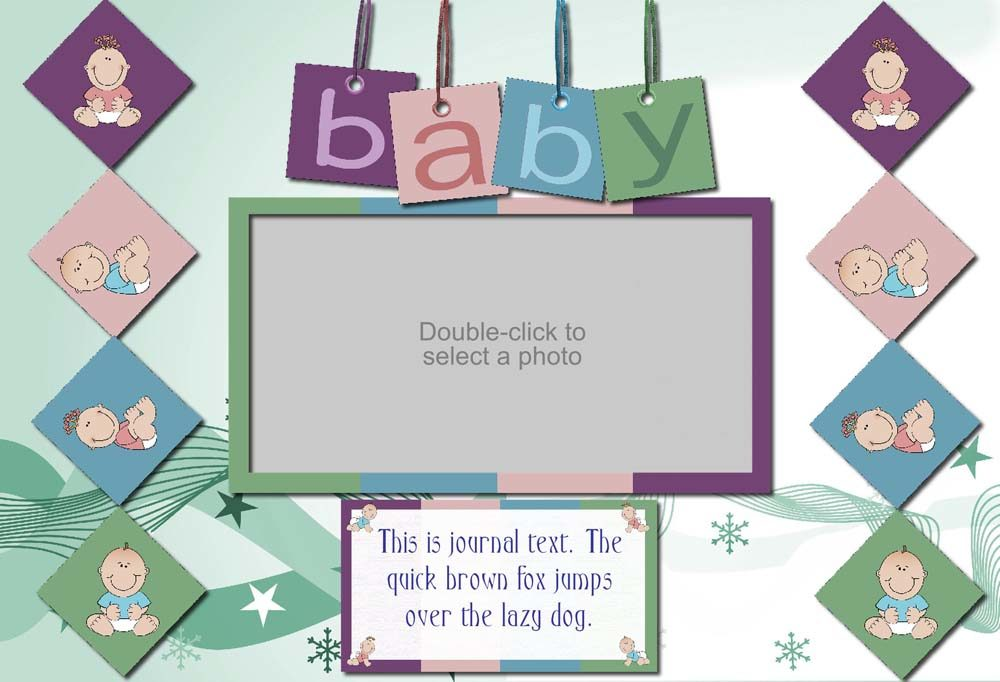 Bundle Of Joy Baby Announcement