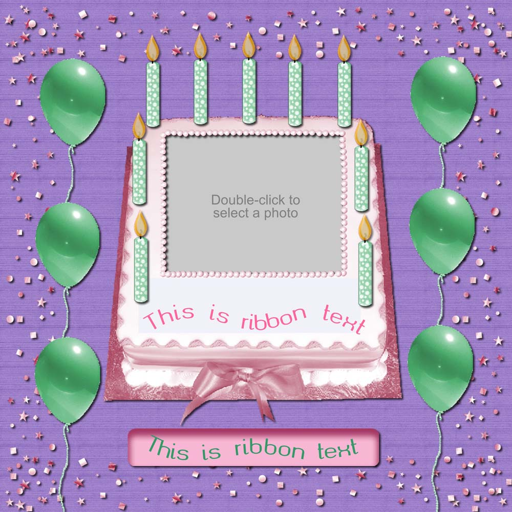 Bundle Of Joy Cakes And Candles