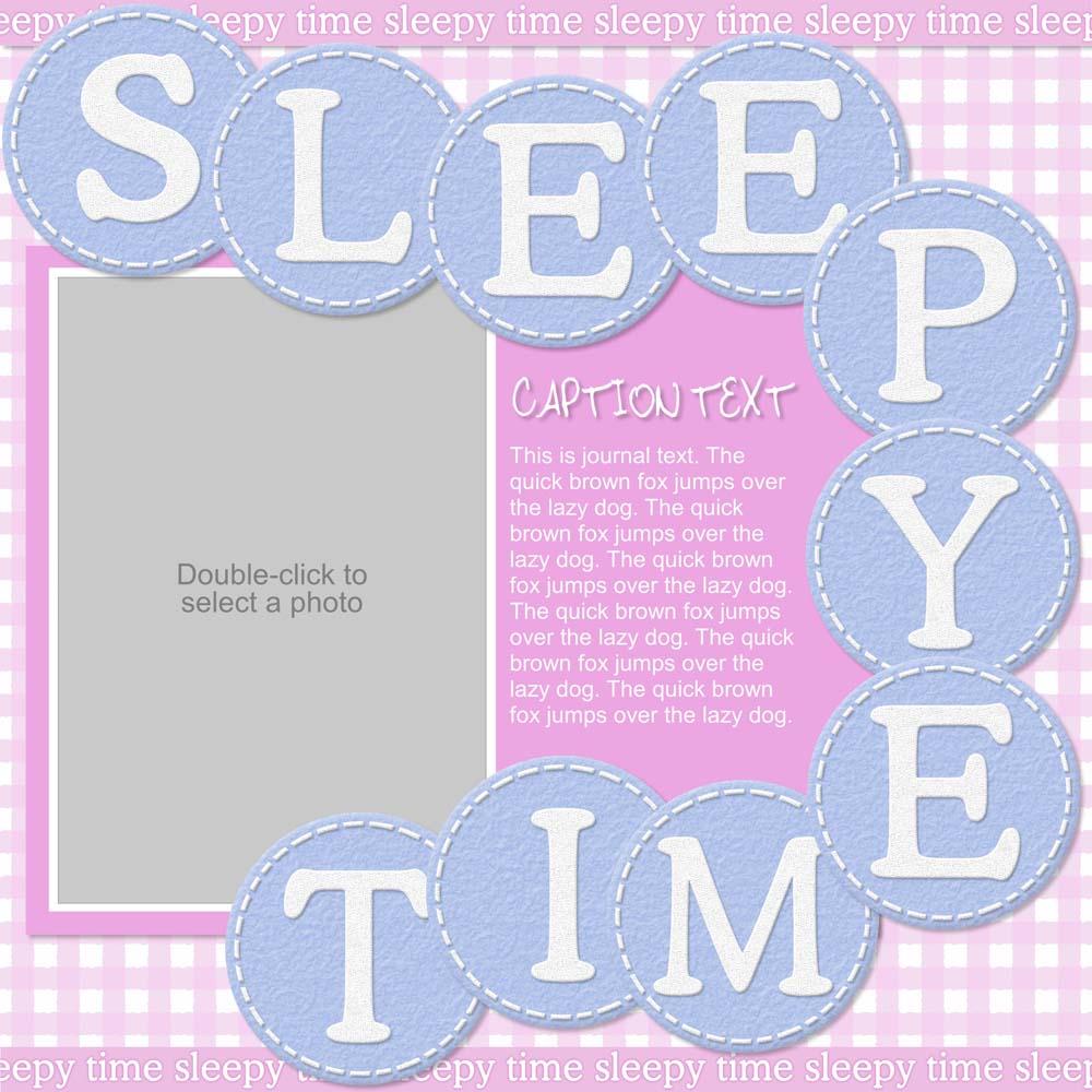 Bundle Of Joy Sleepy Time