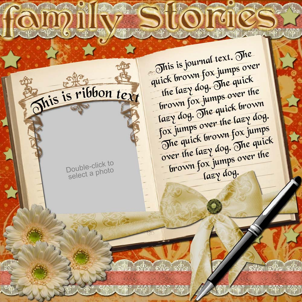 Family Heritage Captured Memories