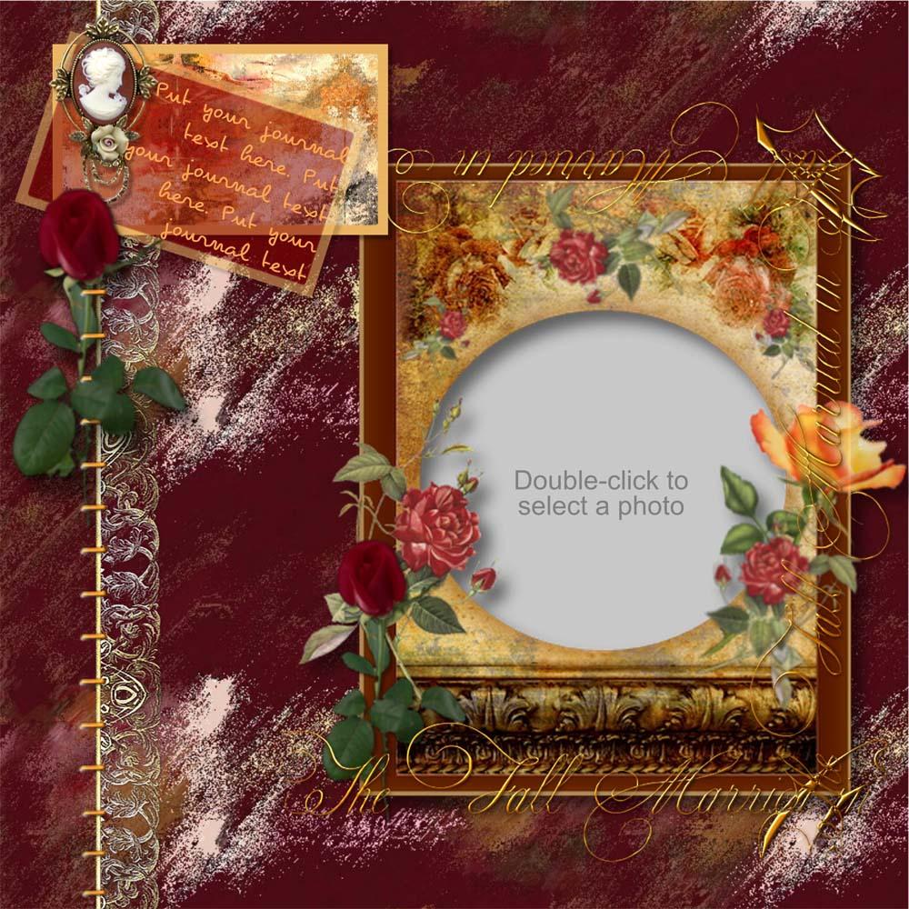 Forever Love Fall Wedding