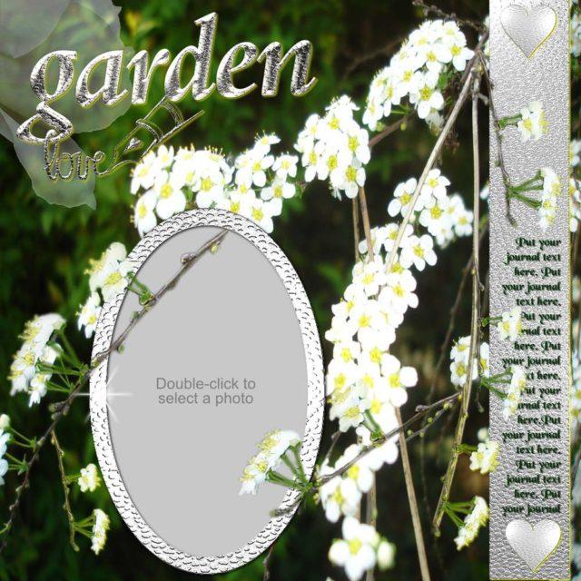 Forever Love Garden Path