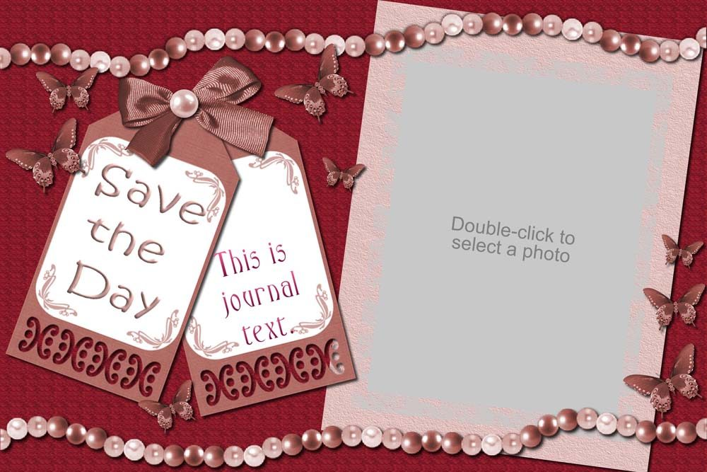 Forever Love Save The Date